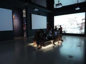 Foto interna do Museu de Congonhas