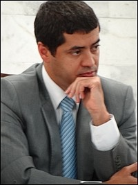 Promotor Glauco Peregrino/Foto arquivo Correio de Minas