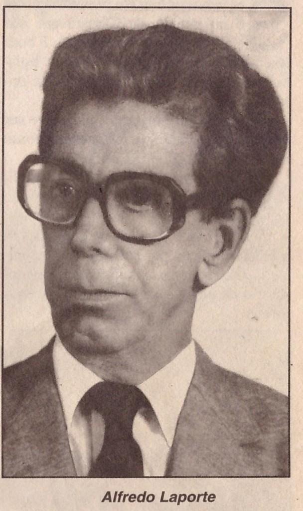 O ex vereador Alfredo Laporte /Foto:Divulgação