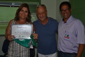 Ana Maria, Dr. Ivar e Efren Martins/Foto:Divulgação