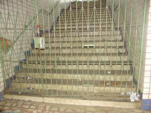 Escada atrasou término da reforma da estação/Foto:Correio de Minas