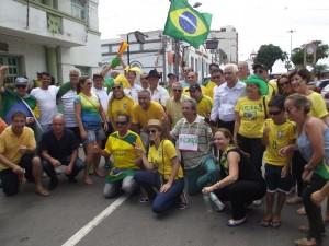 Lideranças presentes ao evento/Foto:Correio de Minas
