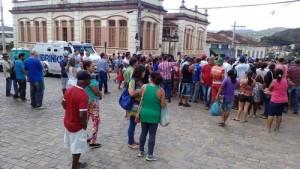População foi as ruas a favor da operação