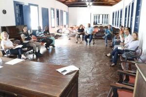 primeira reunião com a comissão organizadora e quitandeiras e quitandeiros sobre o 16º Festival da Quitanda/Foto:Divulgaçção/SECOM