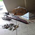 Materiais apreendidos pela PM/ Foto:divulgação
