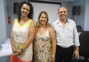 Rosângela, Lilian de Souza e Jonas de Oliveira/Foto:Divulgação