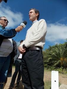 José Maria um dos proprietários da Fazenda Lagartixa