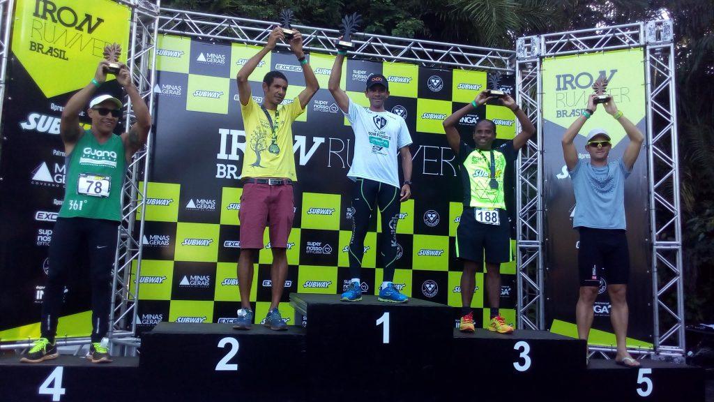 Ernani venceu de ponta a ponto o Iron Runner Brasil