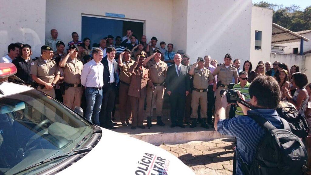 PM homenageia o policial mais antigo da corporação de Minas