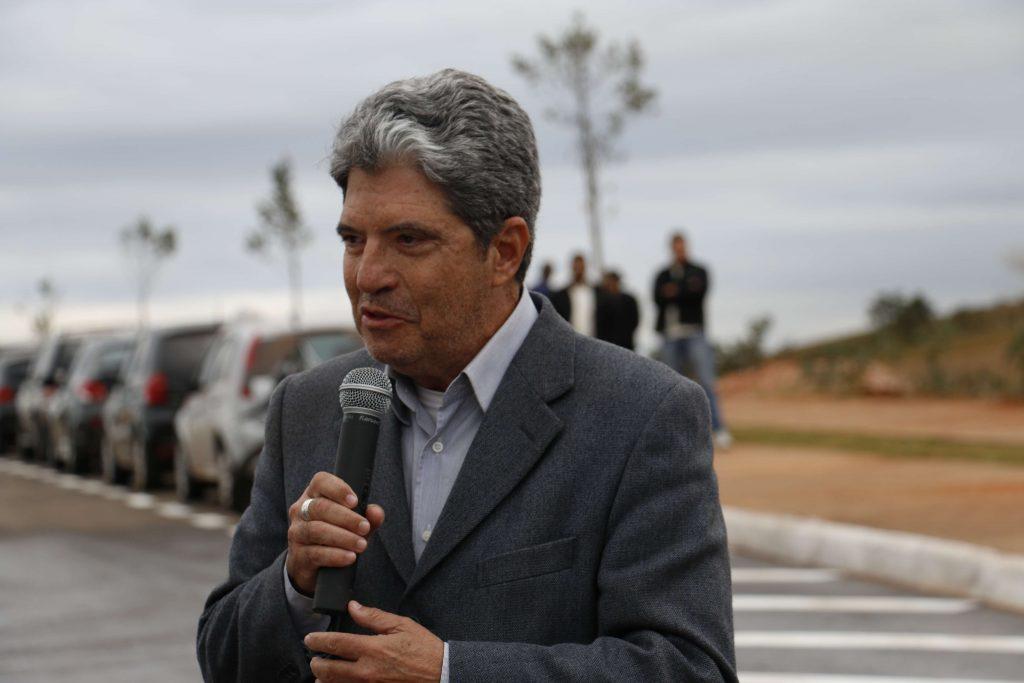 O prefeito Zelinho