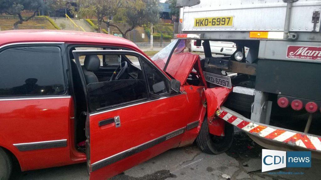 Motorista do carro, segundo passageiros, estaria com claros sinais de embriaguez/Foto:Reprodução