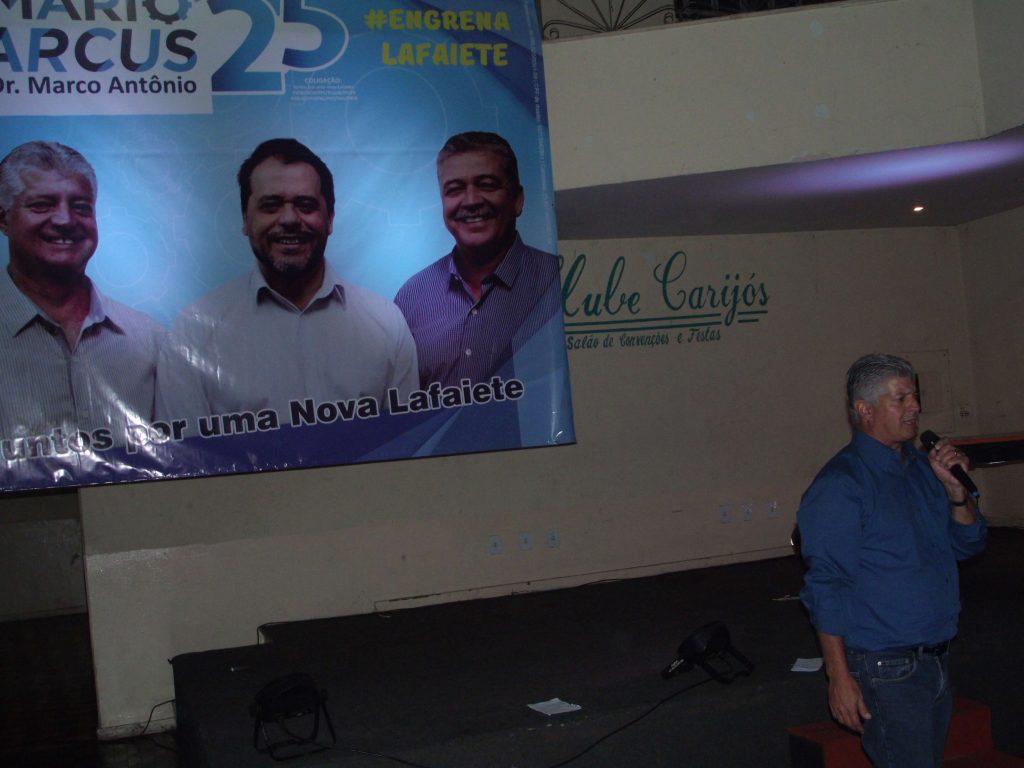 Público prestigiou evento de lançamento de candidatura/CORREIO DE MINAS