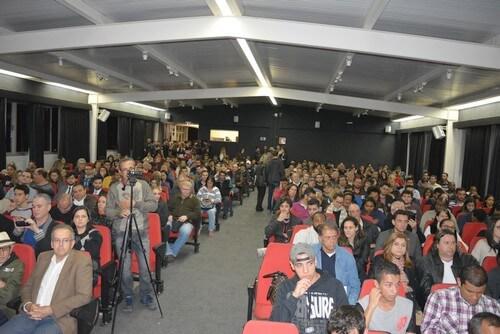Grande público acompanhou a sabatina