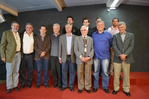 Direção da FDCL, organizadores e candidatos a prefeito e vice
