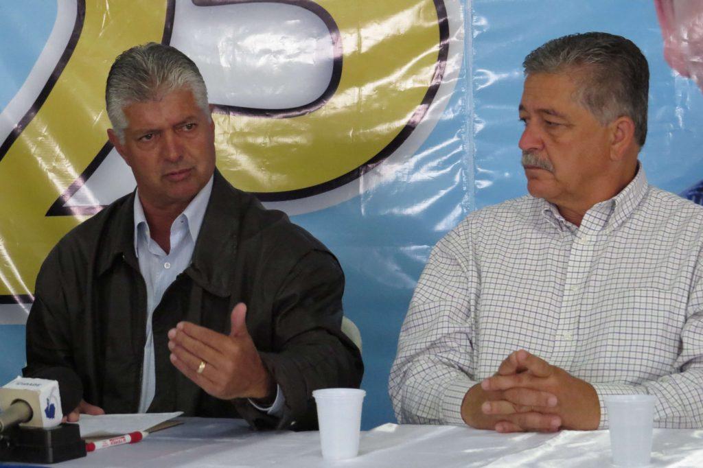 Mário Marcus e Marco Antônio cobraram um governo de união/Foto:Fato Real