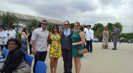 Dr. Carlos e familiares