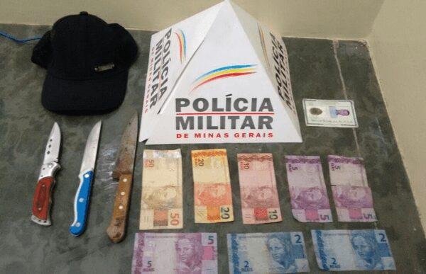 Materiais apreendidos pela PM/Divulgação