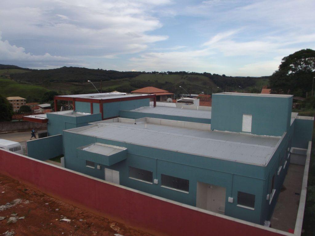 Obra moderna ocupa quase 500m² e é uma das mais modernas da região