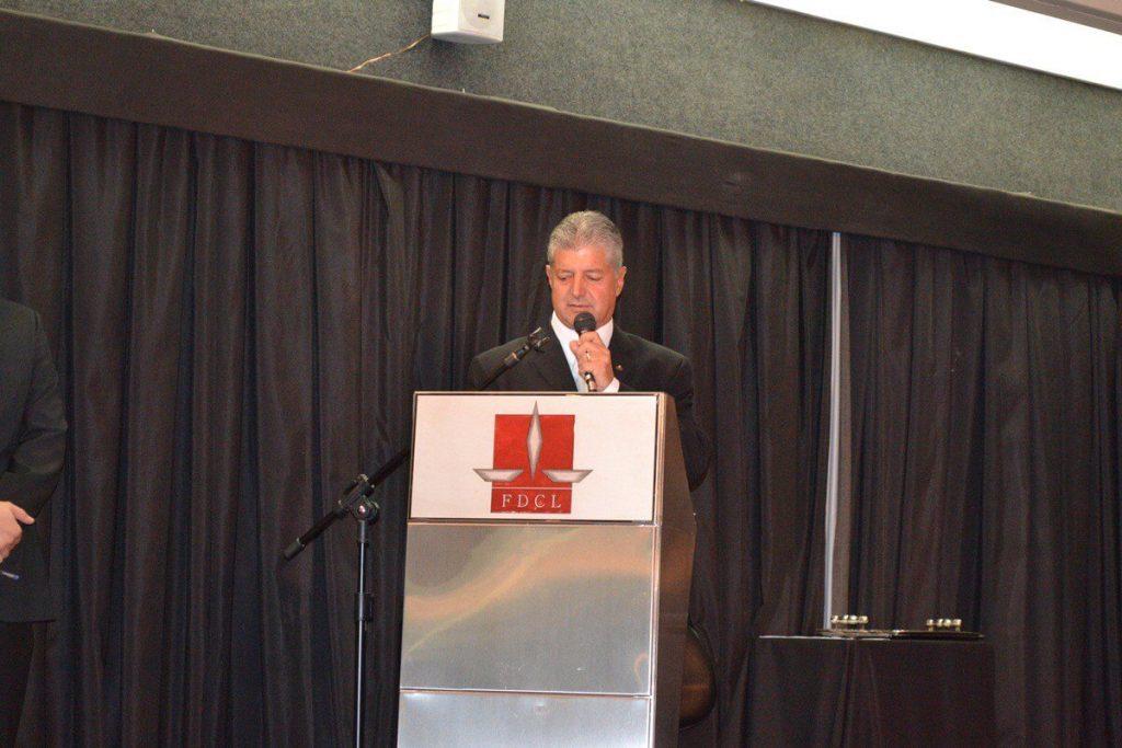 Mario Marcus anunciou durante diplomação a a manutenção da equipe de Defesa Civil/ Giovanni Pablo/Reprodução
