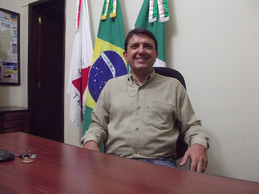 Vereador Sandro José que vai retomar câmaras itinerantes/CORREIO DE MINAS