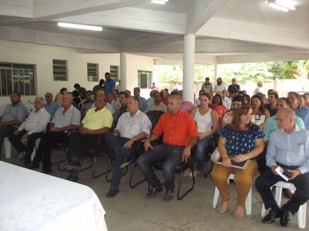 Eleição contou com ampla participação de prefeitos da região
