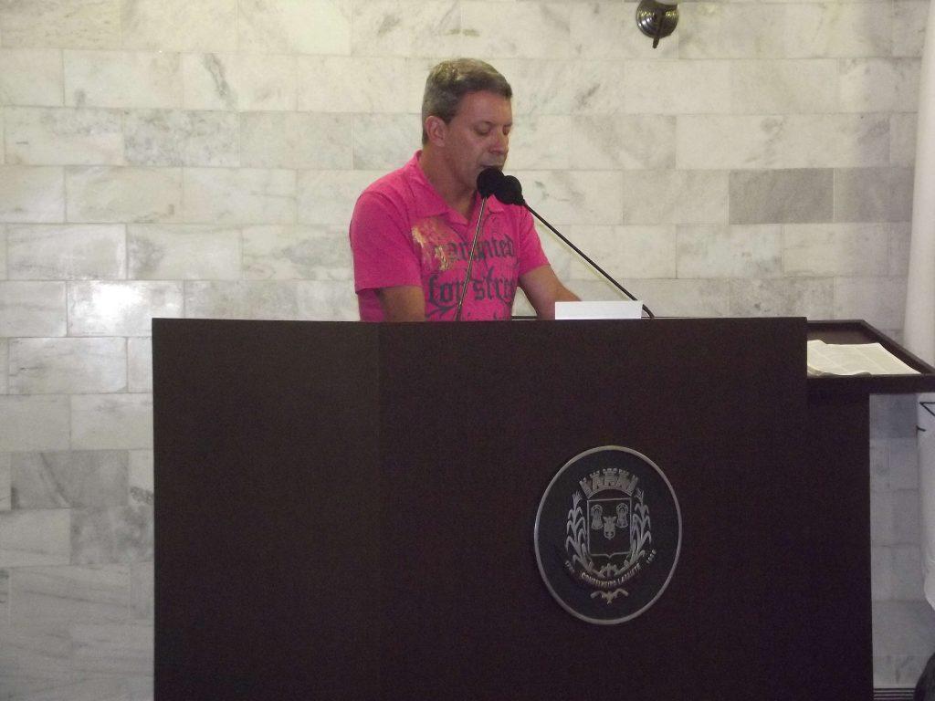 O vereador e futuro secretário de cultura Geraldo Lafayettedefendeu reabertura do teatro municipal/CORREIO DE MINAS