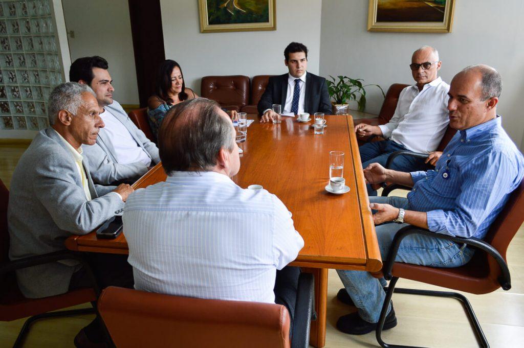 Visita é a primeira da direção da Gerdau ao gabinete do Prefeito Hélio/Pablo Silva/Assessoria de Comunicação/PMOB