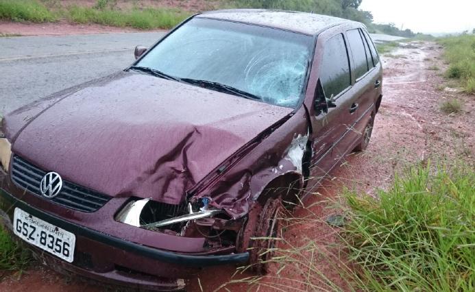 Suposto dono do Gol negou socorro, mas foi encontrado pela PM a 5 km do acidente/ Divulgação