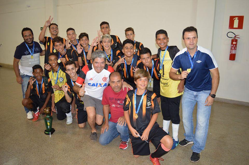 Sport sagrou-se campeão da Copa Verão Sub-16, vencendo o Bulls por 4 a 2/Divulgação