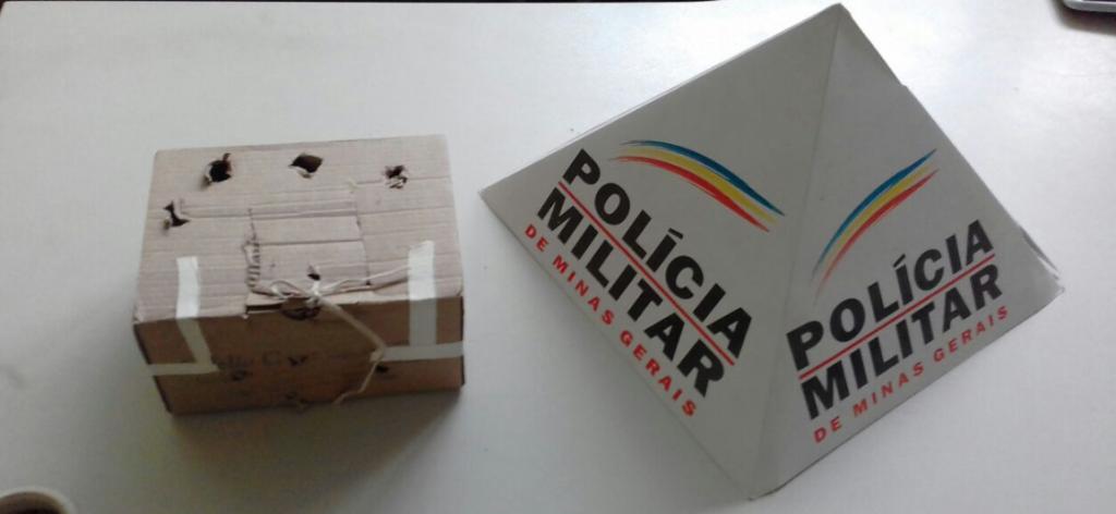 Material apreendido pela PM/Divulgação