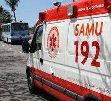 Façanha: idoso surtado rouba ambulância do Samu, percorre 20 km pela BR 040 e termina preso em posto de pedágio