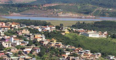 Barragem está localizada a menos de 200 metros do bairro Residencial/Reprodução