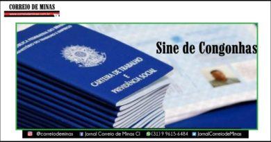 A semana começa com 53 novas oportunidades no Sine de Congonhas. Confira!
