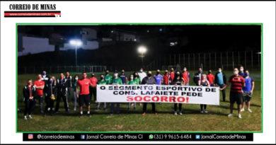 Segmentos do esporte temem colapso da atividade em Lafaiete