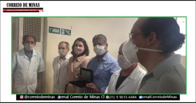 Prefeito recebe homenagem do corpo clínico do Hospital São Camilo