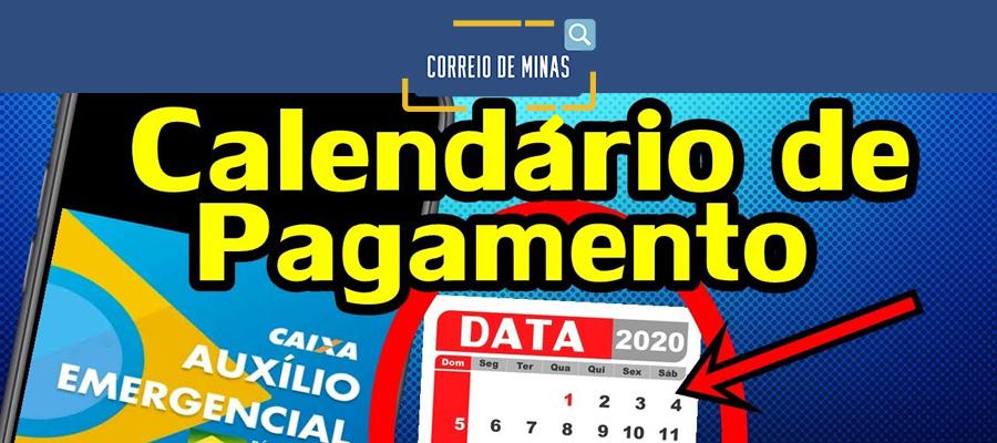 Auxílio Emergencial: governo divulga novo calendário de pagamentos para mais  1,79 milhão de beneficiários - Correio de Minas